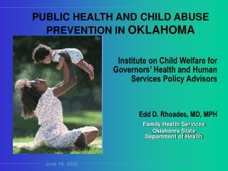 Family Health Services Oklahoma State Department of Health
