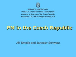 PM in the Czech Republic