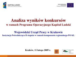 Krak�w, 11 lutego 2009 r.