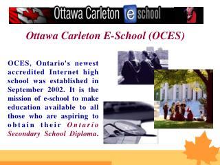 Ottawa Carleton E-School (OCES)