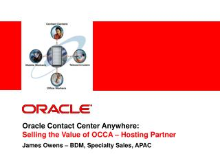 Oracle Contact Center Anywhere:  Selling the Value of OCCA – Hosting Partner