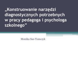 Monika Sas-Tomczyk