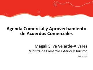 Agenda Comercial y Aprovechamiento de Acuerdos Comerciales Magali Silva Velarde-Alvarez