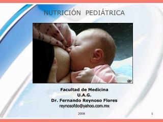 NUTRICI�N  PEDI�TRICA