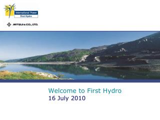 Welcome to First Hydro