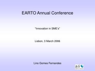 EARTO Annual Conference