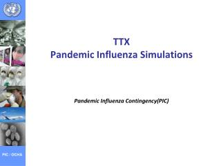 TTX Pandemic Influenza Simulations