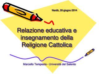 Marcello Tempesta - Università del Salento