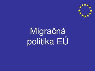 Migračná politika EÚ