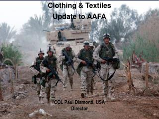 Clothing & Textiles Update to AAFA