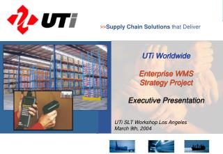 >> Supply Chain Solutions  that Deliver