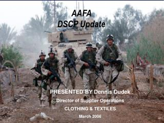AAFA  DSCP Update