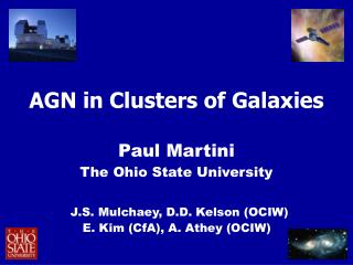 AGN in Clusters of Galaxies