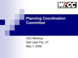 Planning Coordination Committee