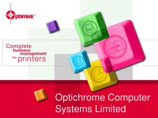 Optichrome Computer Systems Limited