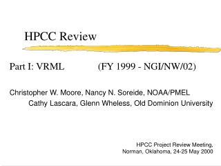 HPCC Review