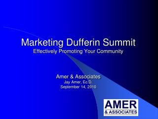 Amer  &  Associates