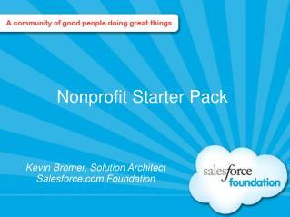 Nonprofit Starter Pack