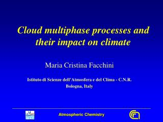 Cloud multiphase processes and their impact on climate
