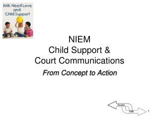 NIEM Child Support &  Court Communications