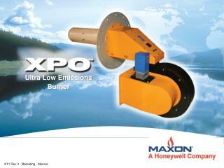 Ultra Low Emissions Burner