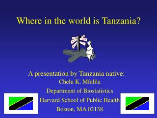 Where in the world is Tanzania?