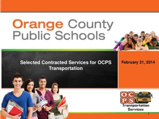 Selected Contracted Services for OCPS Transportation