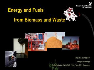 Energy and Fuels      from Biomass and Waste
