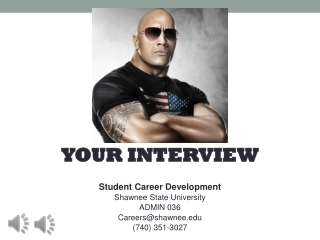 Career Interview: Do and Don t