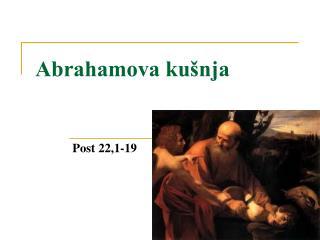 Abrahamova kušnja