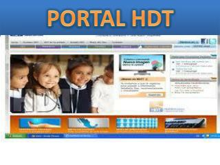 PORTAL HDT