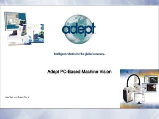 Adept PC-Based Machine Vision