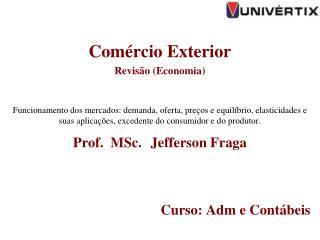 Comércio Exterior  Revisão (Economia)