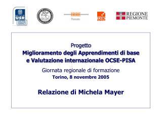 Il quadro di riferimento del programma OCSE-PISA  per le SCIENZE