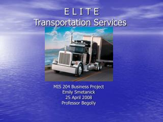 E L I T E     Transportation Services