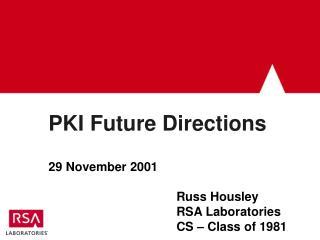 PKI Future Directions