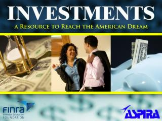 Investing in the Future of Your Children: