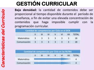 GESTIÓN CURRICULAR
