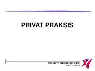 PRIVAT PRAKSIS