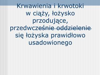 Zgony matek w Polsce 1991- 2000