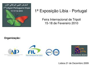 1ª Exposição Libia - Portugal