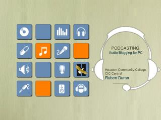 PODCASTING Audio Blogging for PC