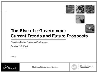 The Rise of e-Government: Current Trends and Future Prospects