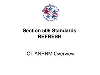 Section 508 Standards  REFRESH
