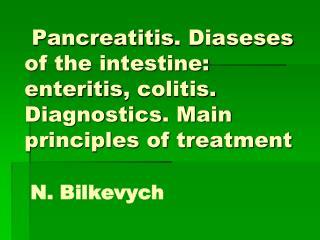 Chronic pancreatitis  ( CP ) -
