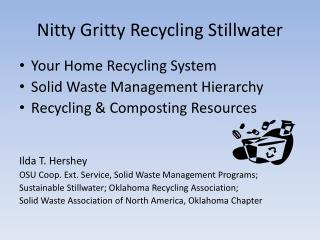 Nitty Gritty Recycling Stillwater
