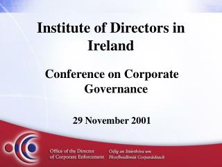 Institute of Directors in Ireland