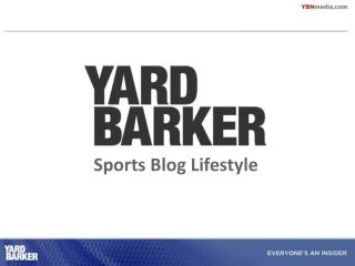 Sports Blog Lifestyle