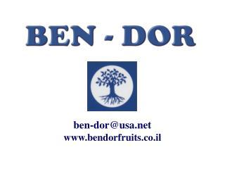 ben-dor@usa bendorfruits.co.il