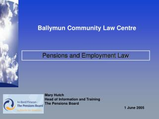 Pensions and Employment Law